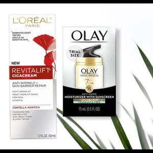 Other - skin care olay and loreal